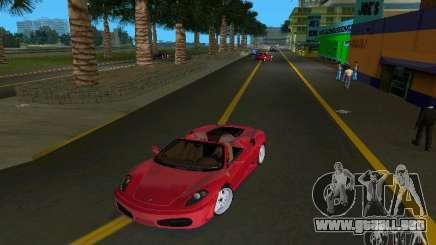Ferrari F430 Spider 2005 para GTA Vice City