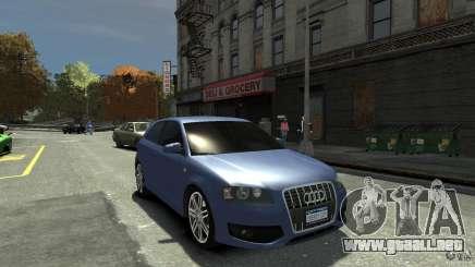 Audi S3 2006 v1.1 tonirovanaâ para GTA 4