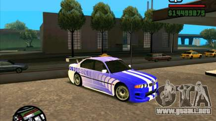 BMW 730i X-Games tuning para GTA San Andreas