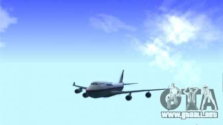 Boeing 747-400 Malaysia Airlines para GTA San Andreas