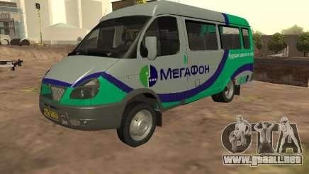 Gacela 32213 megáfono para GTA San Andreas