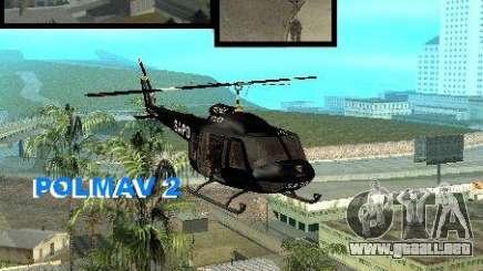 Police Maverick 2 para GTA San Andreas