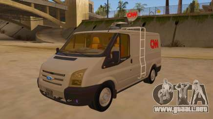 Ford Transit CNN para GTA San Andreas
