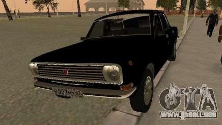 GAZ 24-10 Volga negro para GTA San Andreas
