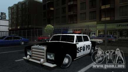 Stafford Police SF para GTA San Andreas