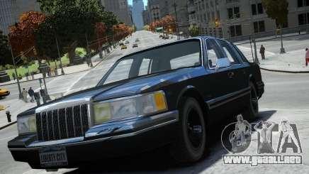 Lincoln Towncar 1991 para GTA 4