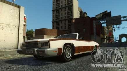 Buccaneer Final para GTA 4