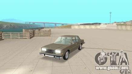 Dodge Diplomat 1985 v2.0 para GTA San Andreas
