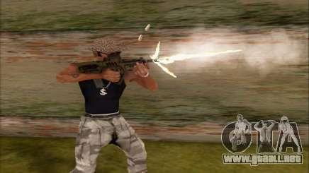 Tavor ctar-21 de WarFace v2 para GTA San Andreas