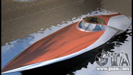 Bugatti Sang Bleu Speedboat para GTA Vice City
