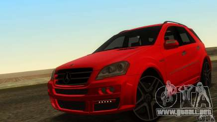Mercedes-Benz ML63 AMG Brabus para GTA San Andreas