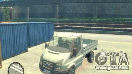 Ford Transit 2007 Pickup para GTA 4
