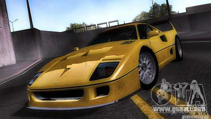 Ferrari F40 GTE LM para GTA San Andreas