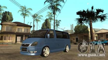 Gaz-2217-Barguzin Sable para GTA San Andreas