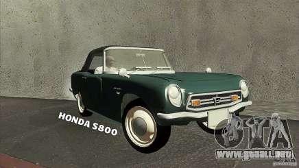 Honda S800 para GTA San Andreas