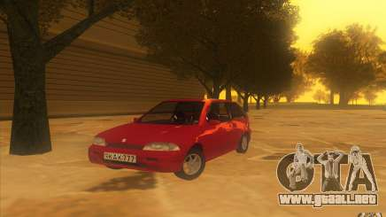 Suzuki Swift GLX 1.3 para GTA San Andreas
