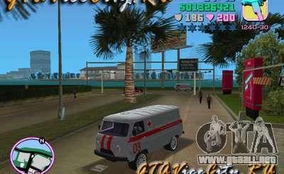 UAZ ambulancia v2.0 para GTA Vice City