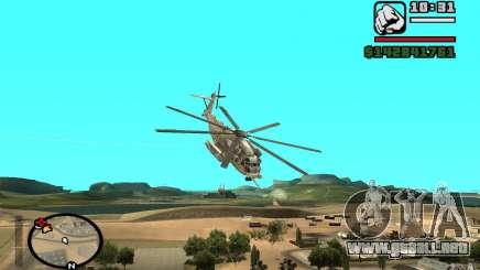 Sikorsky MH-53 con trampilla cerrada para GTA San Andreas