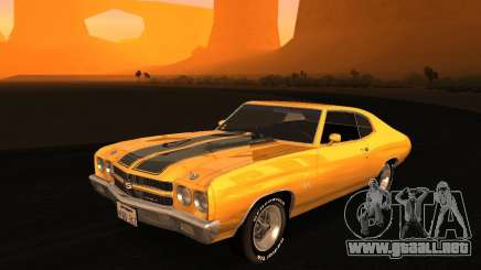 Chevrolet Chevelle SS 1970 v.2.0 pjp1 para GTA San Andreas