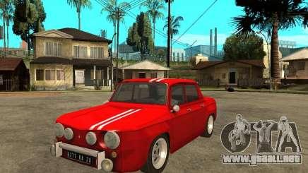 Renault 8 Gordini para GTA San Andreas