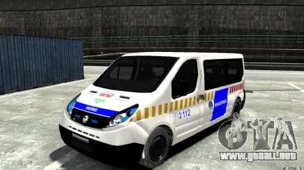 Opel Vivaro Hungarian Police Van para GTA 4