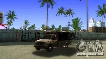 Ford E-350 Ambulance para GTA San Andreas