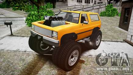 MonsterTruck para GTA 4