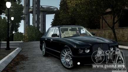 Bentley Arnage T v 2.0 para GTA 4