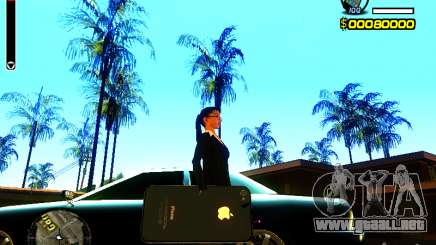 IPhone granate v2 para GTA San Andreas