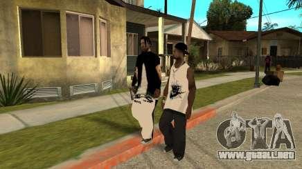 En najke Grove para GTA San Andreas