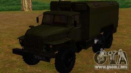Ural 4320 Kung para GTA San Andreas