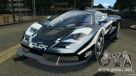 McLaren F1 ELITE Police [ELS] para GTA 4