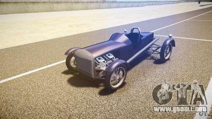 Vintage race car para GTA 4