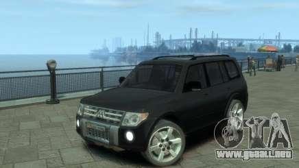 Mitsubishi Pajero para GTA 4