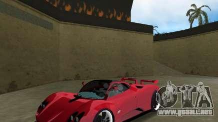 Pagani Zonda S para GTA Vice City