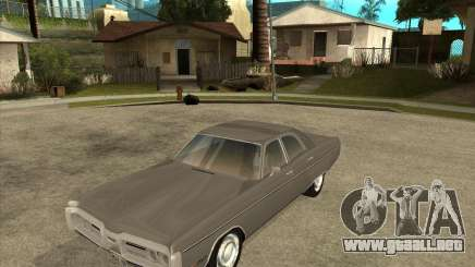 1972 Plymouth Fury III Stock para GTA San Andreas