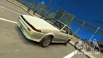 Toyota Corolla AE86 EPM v3.0 para GTA 4