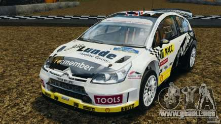 Citroen C4 WRC para GTA 4