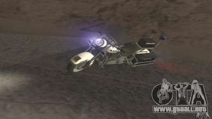 Motocicleta de la policía de GTA TBoGT para GTA San Andreas