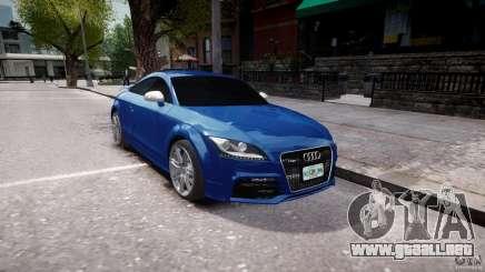 Audi TT RS Coupe v1 para GTA 4
