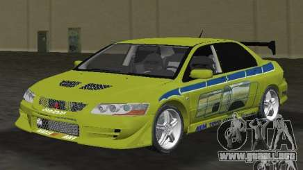 Mitsubishi Lancer Evolution VII para GTA Vice City