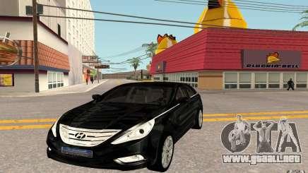 Hyundai Sonata 2012 para GTA San Andreas