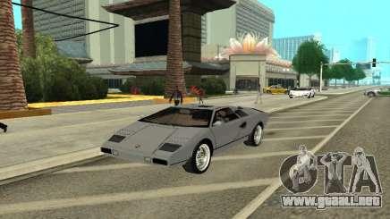 Lamborghini Countach LP400 para GTA San Andreas