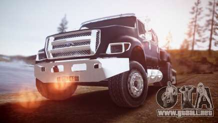 Ford F-650 Super Crewzer para GTA 4