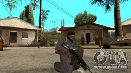 AK-74 m con GP-25 para GTA San Andreas