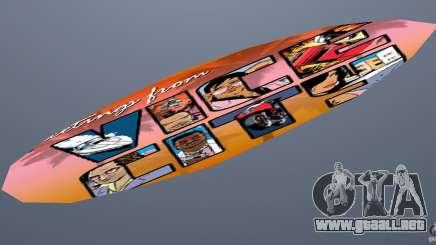 Surfboard 1 para GTA Vice City