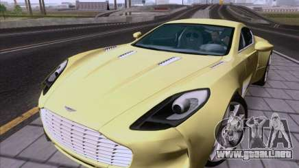 Aston Martin One-77 2010 para GTA San Andreas