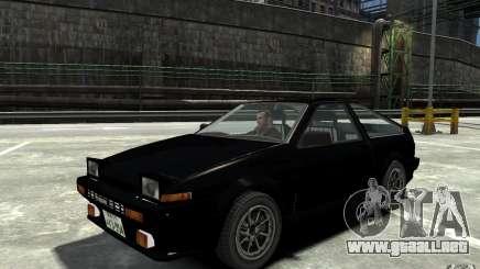 Toyota Sprinter Trueno AE86 para GTA 4