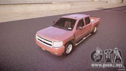 Chevrolet Silverado 1500 v1.3 2008 para GTA 4