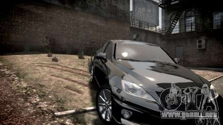Lexus IS-F para GTA 4